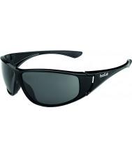 Bolle Highwood lesklé černé polarizované sluneční brýle TNS