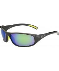 Bolle Hřeben lesklý antracit hnědé smaragdové brýle