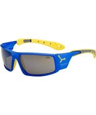 Cebe Ice 8000 petrolejově modrá žlutá sluneční brýle