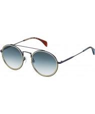 Tommy Hilfiger Th 1455-S bqz 08 matných modré sluneční brýle