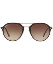RayBan Rb4292n 62 71013 sluneční brýle s dvojitým můstkem