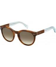 Tommy Hilfiger Dámy tého 1291-ns m9g J6 Havana hnědé azurových brýlí