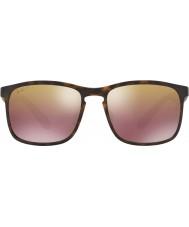 RayBan Rb4264 58 tech chromance matný Havana 894-6b hnědý zrcadlo polarizované sluneční brýle