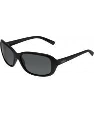 Bolle Molly lesklé černé polarizované sluneční brýle TNS