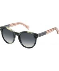Tommy Hilfiger Dámy th 1291-NS MBR 9O zelené havana růžové brýle