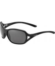 Bolle Sölden lesklé černé polarizované sluneční brýle TNS