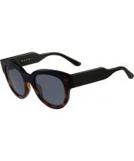 Marni Dámy me600s Havana a modré sluneční brýle