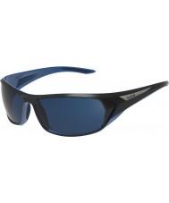 Bolle Blacktail lesklé černé modré polarizované offshore modré sluneční brýle