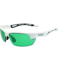 Bolle Šroub s lesklé bílé competivision pistole tenisové sluneční brýle