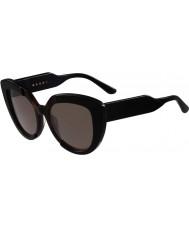 Marni Dámské me601s černé a Havana sluneční brýle