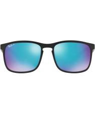 RayBan Rb4264 58 tech chromance matná černá 601sa1 modrý záblesk polarizované sluneční brýle