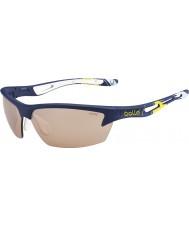 Bolle Bolt Ryder Cup modrá žlutá modulátor v3 golfových sluneční brýle