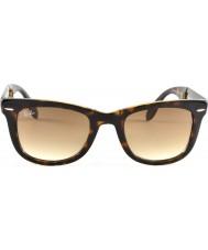 RayBan Rb4105 50 skládací Poutník světlo tortoiseshell 710-51 sluneční brýle