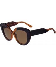 Marni Dámské me601s modré a oranžové sluneční brýle