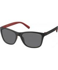 Polaroid Pánská pld3011-s llq y2 černá červená polarizované sluneční brýle