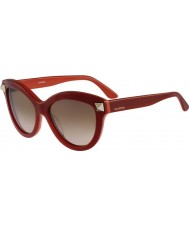Valentino Dámská v695s anglické červené sluneční brýle