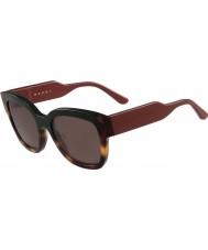 Marni Dámské me604s zelené a sluneční brýle Havana