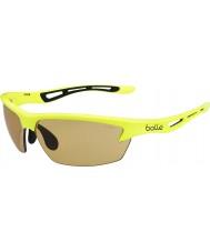 Bolle Bolt neon žlutý modulátor v3 golfových sluneční brýle