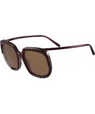 Marni Dámy me608s bordó a Havana sluneční brýle