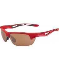 Bolle Šroub s lesklé červené modulátor v3 golfových sluneční brýle