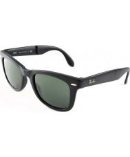RayBan Rb4105 50 skládací Poutník matná černá 601S sluneční brýle