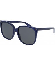 Gucci Dámské gg0022s 005 sluneční brýle