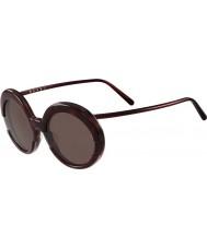 Marni Dámy me609s bordó a Havana sluneční brýle