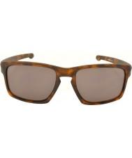 Oakley Oo9262-03 tříska matný hnědý tortoiseshell - teplé šedé sluneční brýle