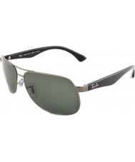 RayBan Rb3502 61 highstreet gunmetal 004-58 polarizované sluneční brýle
