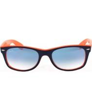 RayBan Rb2132 52 nový pocestný top modro-oranžové 789-3f sluneční brýle