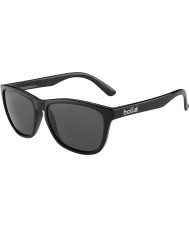 Bolle 437 retro kolekce lesklý černý polarizované sluneční brýle TNS