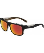 Bolle Clint matná černá oranžový polarizované sluneční brýle TNS požární