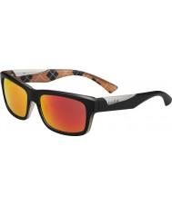 Bolle Jude matná černá oranžový polarizované sluneční brýle TNS požární