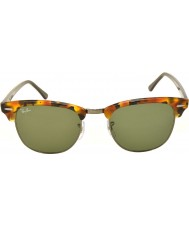 RayBan Rb3016 51 clubmaster všiml černé havana 1157 sluneční brýle
