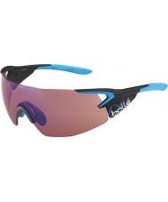 Bolle 5. element pro matný uhlík modrá růžová-modré sluneční brýle