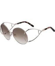 Chloe Dámské ce124s stříbrné a hnědé sluneční brýle