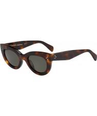 Celine Dámy cl 41050-S 05 l správních agend, 1e tortoiseshell sluneční brýle