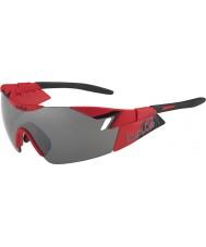 Bolle 6th Sense matt červená černá TNS pistole sluneční brýle