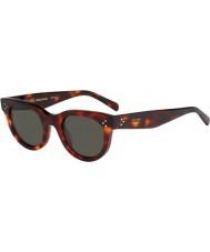 Celine Dámy cl 41053-S 05D 1e zelené tortoiseshell sluneční brýle