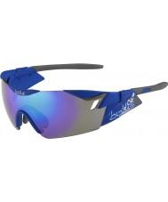 Bolle 6th Sense s matným navy modrofialové sluneční brýle