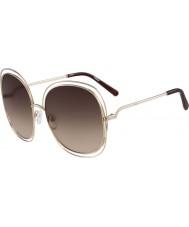 Chloe Dámská ce126s růžové zlato a hnědé sluneční brýle