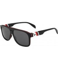 Cebe Chicago černá červená šedá 1500 Blesk zrcadlové sluneční brýle