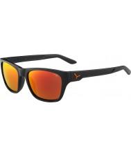 Cebe Hacker matně šedá 1500 šedá blesk zrcadlo oranžové sluneční brýle
