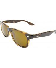 RayBan Junior Rj9052s 47 nový Poutník lesklé havana 152-3 sluneční brýle