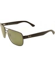RayBan Rb3530 58 highstreet šedostříbrná 002-9a polarizované sluneční brýle