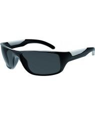 Bolle Vibe lesklé černé polarizované sluneční brýle TNS