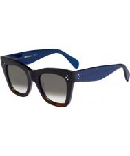Celine Dámy cl 41090-S QLT Z3 černé havana modré brýle
