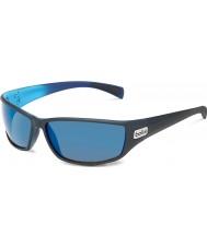 Bolle Python matná černá modrá polarizované GB-10 sluneční brýle