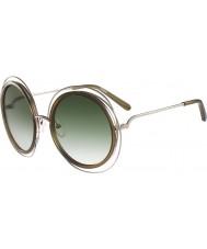 Chloe Dámy ce120s Carlina zlaté khaki sluneční brýle
