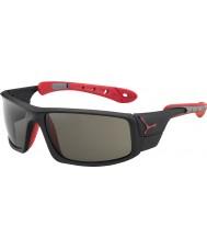 Cebe Ledové 8000 matná černá červená variochrom vrchol sluneční brýle